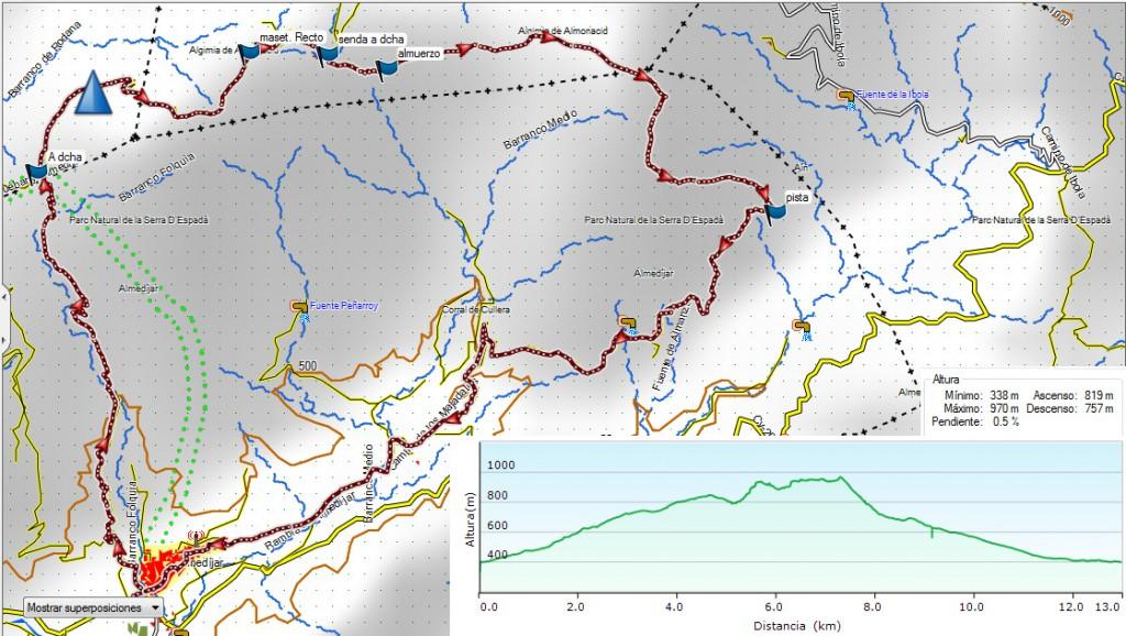 Almedíjar. Pico Cullera 31-10-15