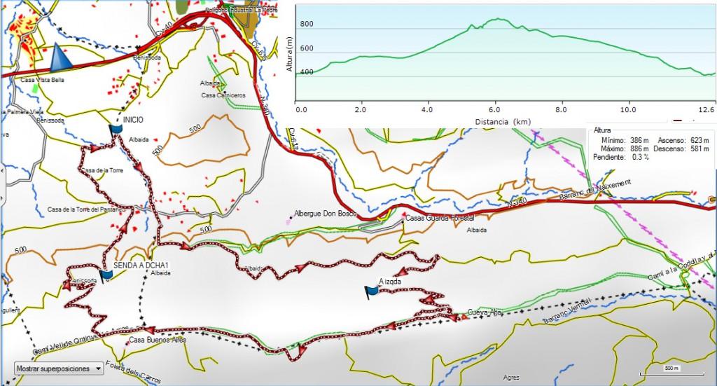 Benissoda La Cova Alta 14-11-15