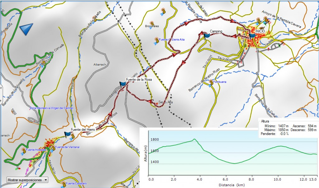 Bronchales-Sierra Alta-Noguera 4-06-2016
